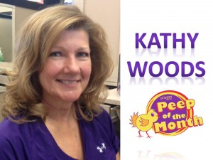 kathy peep of the month