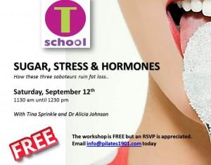 SUGAR STRESS AND HORMONES WORKSHOP