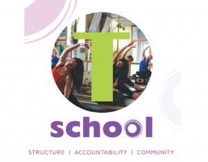 T School logo 2015