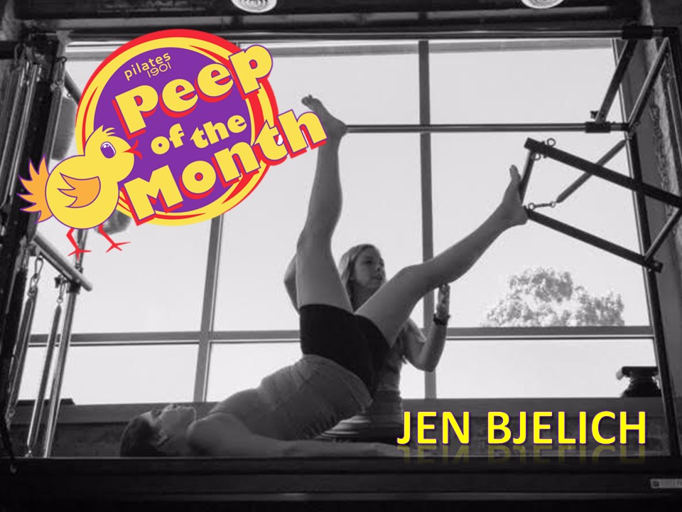 Jen Bjelich Is Our Pilates Peep Of The Month Pilates 1901