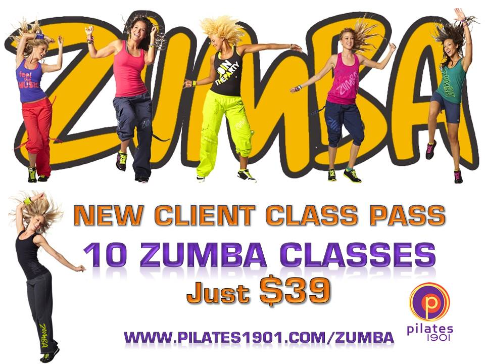 A Special Invitation For New Zumba Clients Pilates 1901