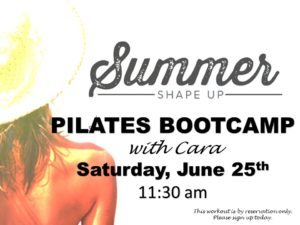 Summer Shape Up with Cara